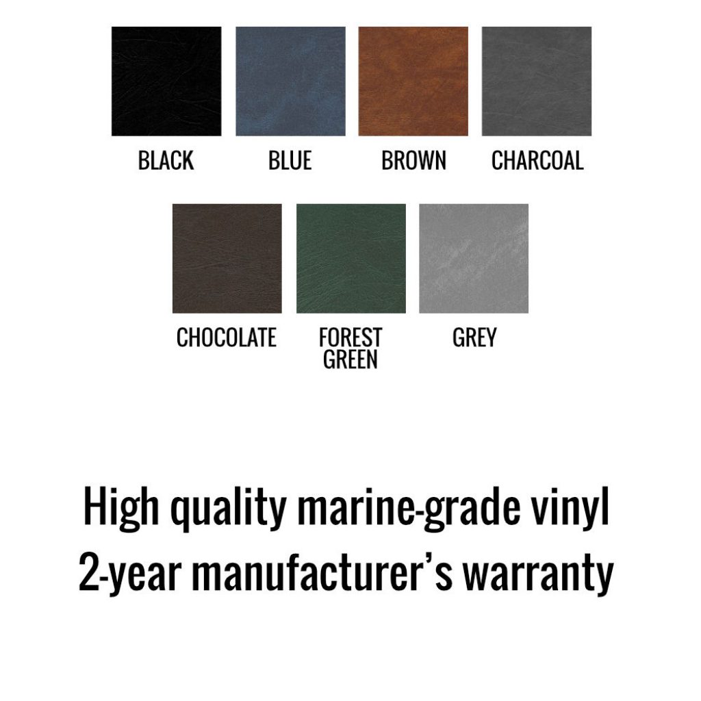 Durham Covers offers 7 different colours of hot tub cover.