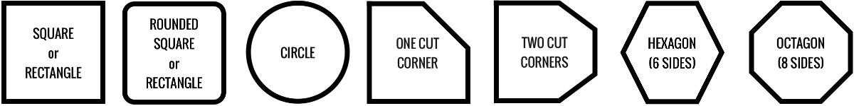 Hot tub covers are available in many different shapes, including square, rectangular, circular, hexagonal, and octagonal.